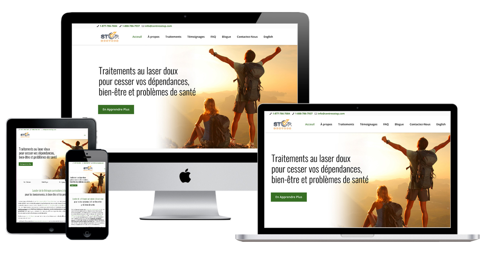 Drug Addiction Treatment Marketing & Web Design