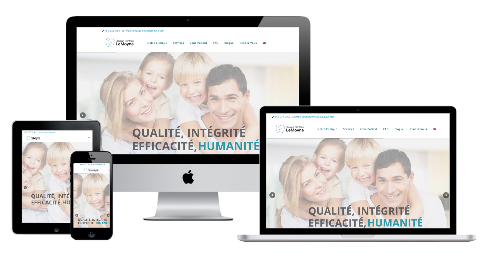 Dental Web Design | Montreal Dental Agency