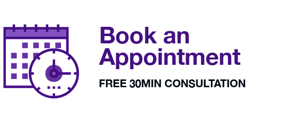 Book an Appointment today!